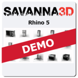 Savanna3D for Rhino 5 DEMO