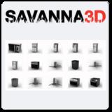 Savanna3D for Rhino 5