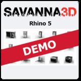 Savanna3D for Rhino 5 DEMO