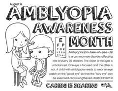 Amblyopia Awareness