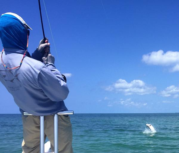 Fly Fishing for tarpon Fl. Keys