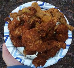 Fried Frog Legs Photo