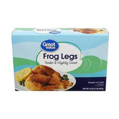 Walmart great value Frog legs
