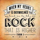 Psalm 61 - The Rock That Is Higher Than I