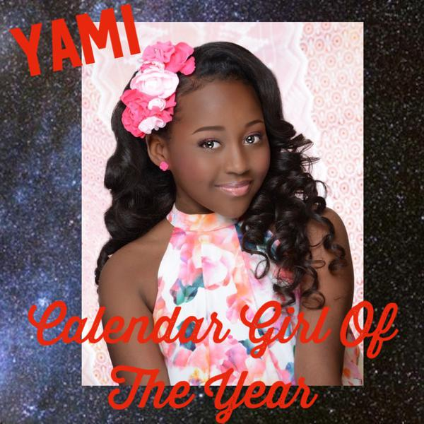 YAMI Calendar Girl of the Year 2020