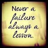Lessons from Failure