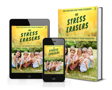 THE STRESS ERASERS, available now.