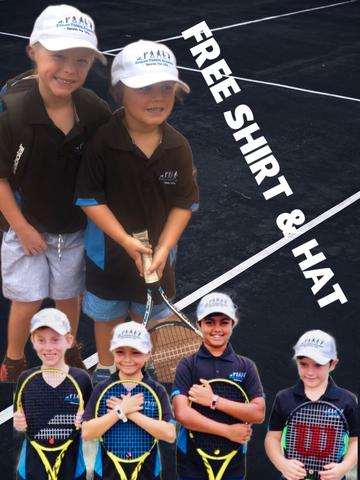 FREE Evolve Tennis Academy Shirt & Hat