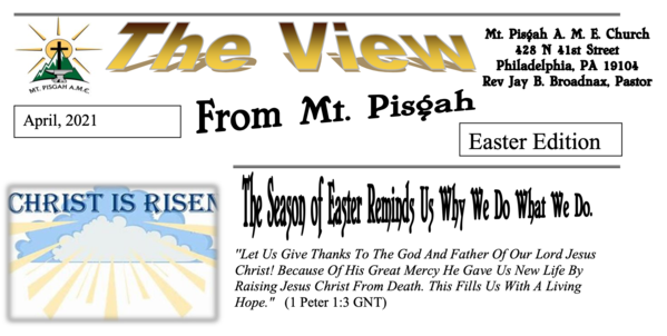 The View - April 2021 - Easter Edition