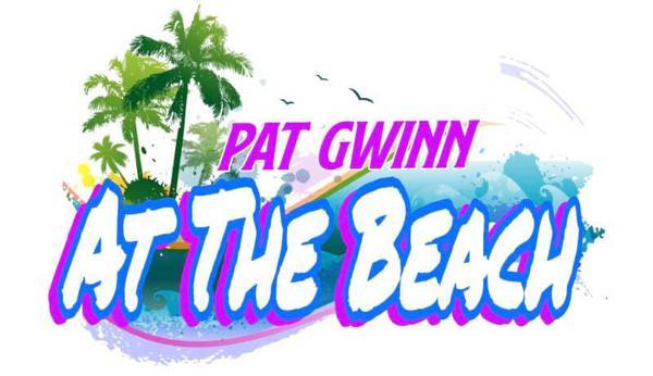 Pat Gwinn at the Beach