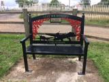 New Bench for Earith Memorial